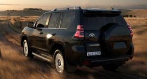 2022 Toyota Land Cruiser Spy Shots