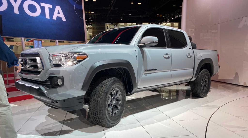 2022 Toyota Tacoma Engine