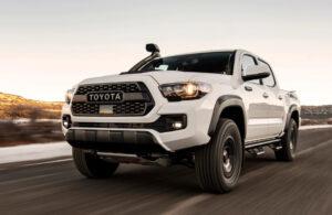2022 Toyota Tacoma Spy Shots