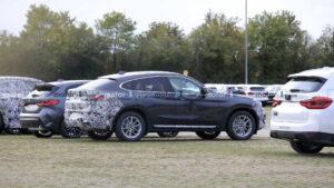 2023 BMW X4 Spy Photos