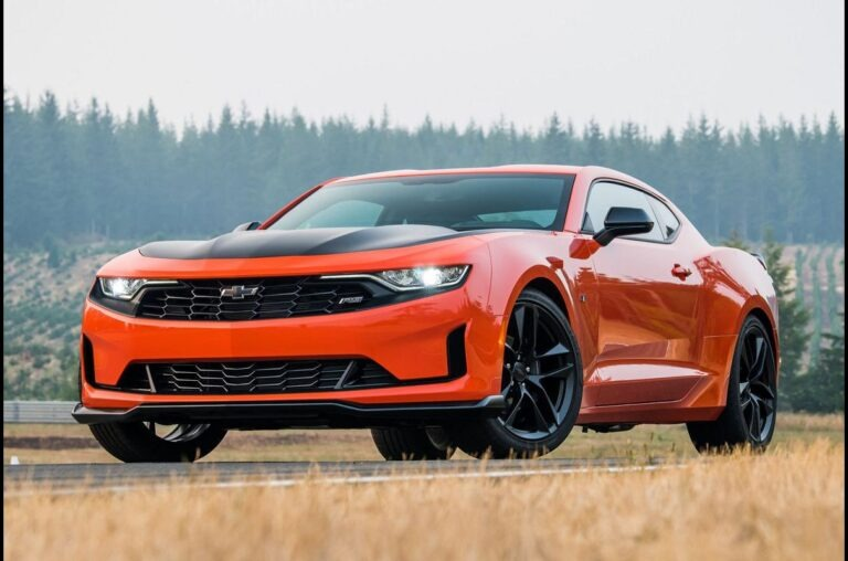 2023 Chevy Camaro Release Date
