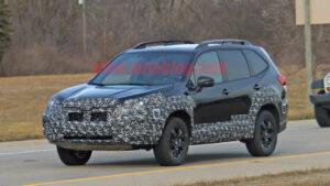 2023 Subaru Forester Spy Shots