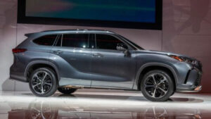 2023 Toyota Highlander Drivetrain