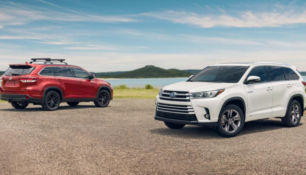 2023 Toyota Highlander Spy Shots