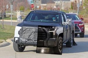 2023 Toyota Tundra Spy Photos