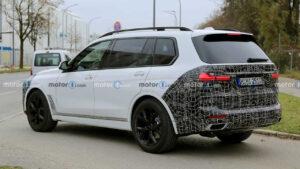 2022 BMW X7 Spy Photos