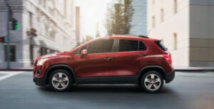2022 Chevy Trax Exterior