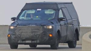2022 Ford Ranchero Spy Photos