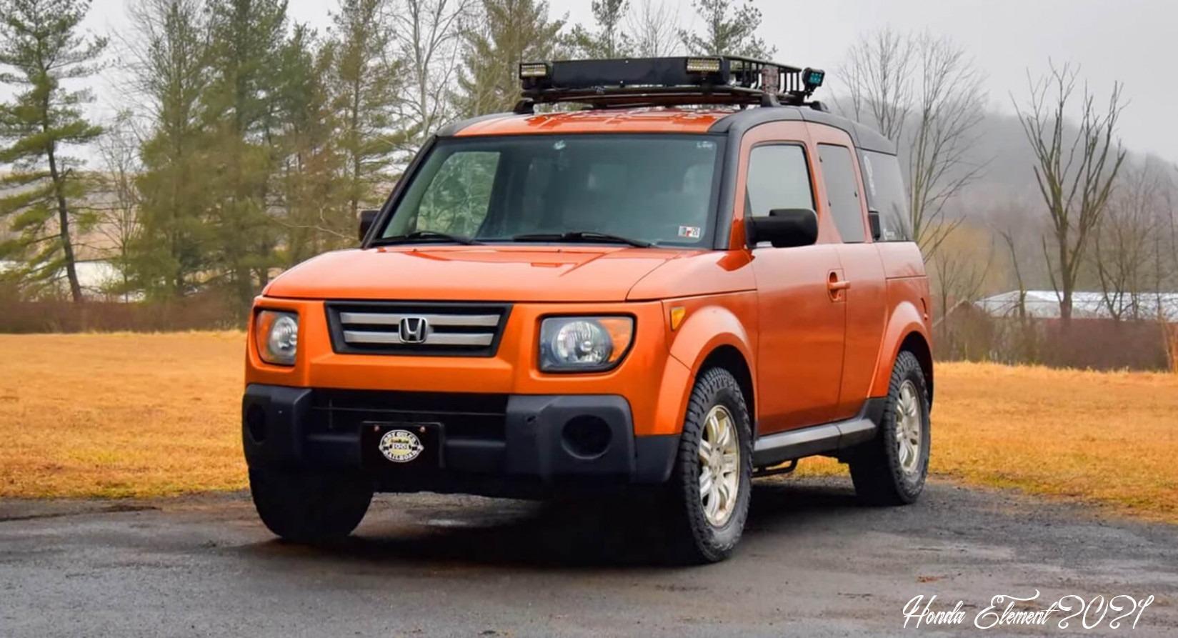 2022 Honda Element Specs