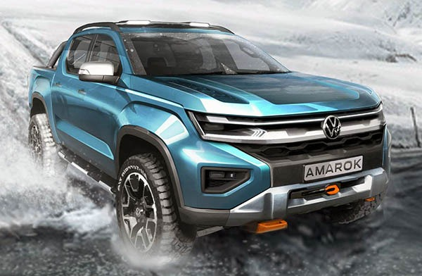 2022 VW Amarok Images