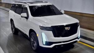 2023 Cadillac Escalade Interior