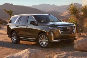 2023 Cadillac Escalade Spy Shots