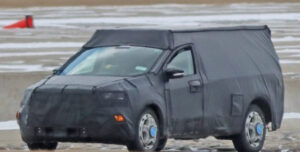 2023 Ford Courier Spy Shots