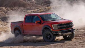 2023 Ford F150 Raptor Spy Shots