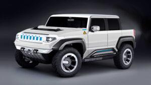 2023 GMC Hummer EV Concept