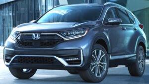 2023 Honda CRV Drivetrain