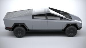 2023 Tesla Cybertruck Interior