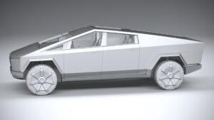 2023 Tesla Cybertruck Spy Photos