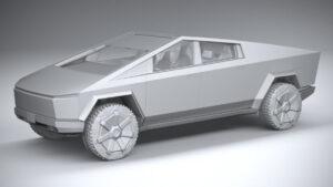 2023 Tesla Cybertruck Spy Shots